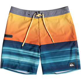 Quiksilver Highline Hold Down 18 Boarshorts Men Tiger Orange